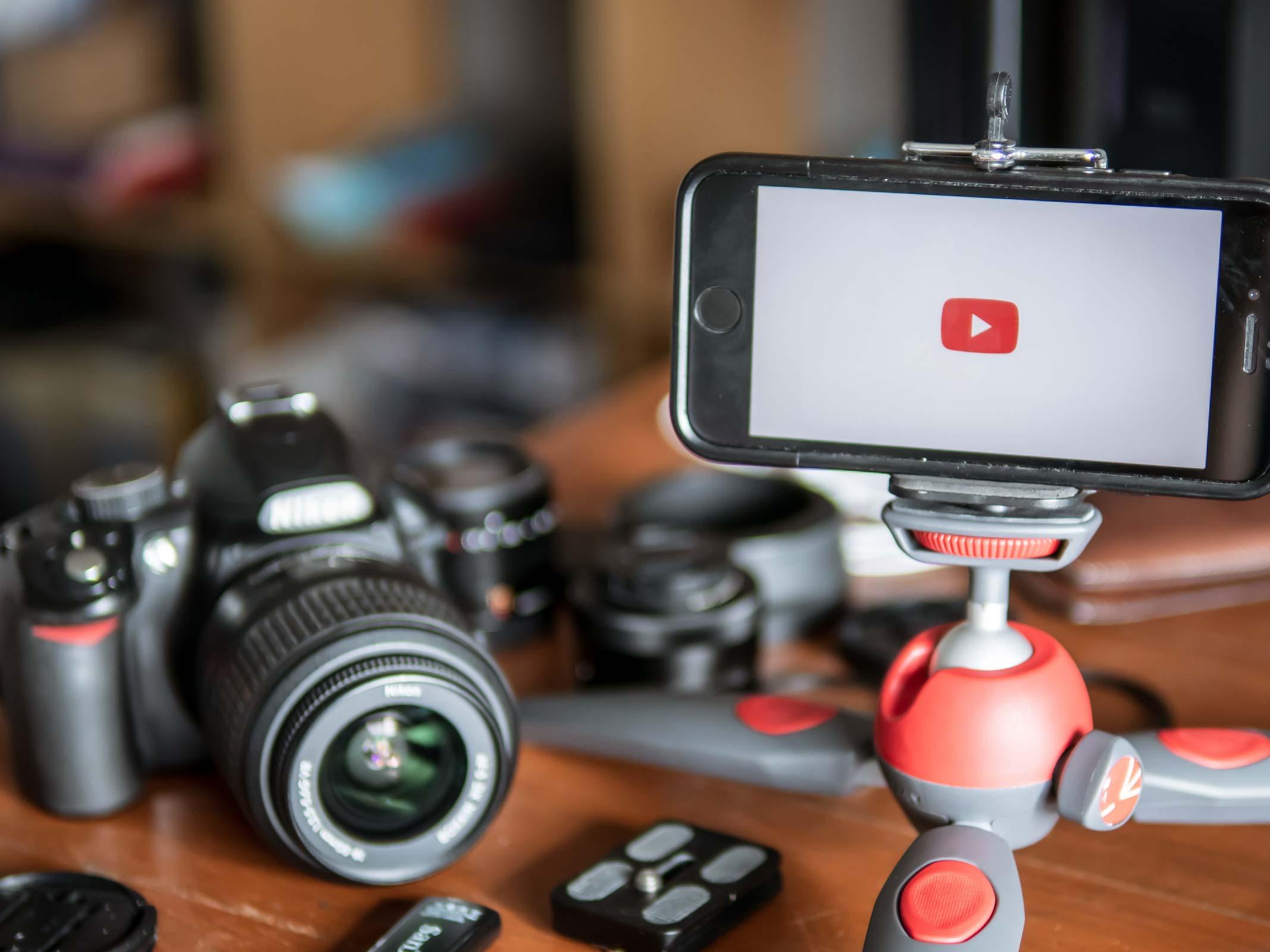 camera iphone logo youtube